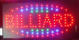 Wholesale Hot Shop Customs - 2016 Special Offer Hot Sale semi-outdoor 10X19 Inch billard shop sign custom all kinds of led store sign led billboards wholesale