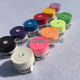 Wholesale Abrasive Wholesalers - Wholesale-High Quality Branded Tennis Racket Overgrips Wearable Tenis Overgrip Abrasive Racquets Hand Glue Badminton Thin Type Over grip