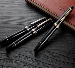 Wholesale Ink Business - Top Grade Meisterstcek 149 classic Fountain pen Luxury Black thick resin 4810 nib business office supplies Monte brand writing ink pens gift