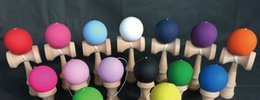 Wholesale Wholesale Wood Swords - kendama Matt Beech sword skill ball rubber ball ball skills jade sword