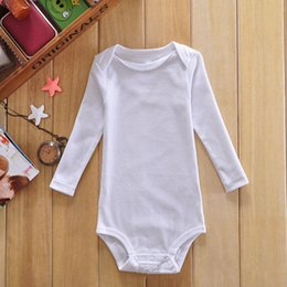 Wholesale Baby Suits Newborn Gift Set - Cheapprice 32pcs Baby Boys Girls Rompers body suit Newborn Long sleeve Romper Onesies 100% Cotton Clothing Sets Triangle for baby best gift