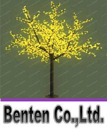 albero di ciliegio verde chiaro Sconti 2M 69W giallo / verde / rosso LED luce di ciliegio 1152 LED verde chiaro albero led LLFA