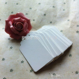 Canada Papier Kraft Carré Fleur Tête Balise Liste Bannières Vierges Marquages Cartes Marquées Cartes Produit Cartes Peintes à la Main Papier Crafts 0419xx Offre