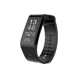 Wholesale Wristband Red For Men - TLWT6 ECG+PPG Smart band Men IP67 Waterproof Heart Rate Blood Pressure Oxygen Tracker Smart bracelet Call Reminder Wristband