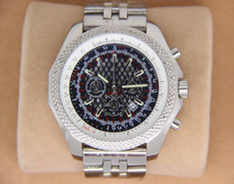 Wholesale Dive Sapphire - Luxury Mens Quartz Chronograph B 55mm stainless Windrider sports Chronomat Watch Evolution stainless steel Dive Watches