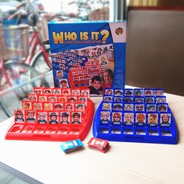 Wholesale Desktop Basketball - Who Is It ?Board Game Baby Birthday Gift Desktop Funny Game Memory Training Family Parent -Child Interactive Educational Guessing