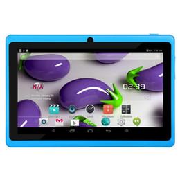 Wholesale Lenovo Language - 7 inch quad core tablet q88 Tablet PC Android 4.4 3000mAh Battery WiFi Quad Core vs lenovo huawei xiaomi