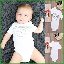 Wholesale Toddler One Piece Sleepwear - Toddler costume baby rompers sleepwear kids jumpsuits boys girls infant letter playsuits tyfactory one piece available free shipping