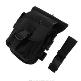 Wholesale Drop Leg Bags - Outdoor Tactical Military Drop Leg Bag Panel Utility Waist Belt Pouch Bag free shipping