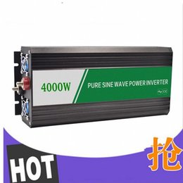 Wholesale Home Pure Power Inverter - CE approved 4000W Full Power 8000w peak household off-grid pure sine wave solar power inverter for home