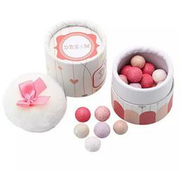 Wholesale Sleek Makeup Wholesalers - E NEW ARRIVAL 100% Brand Women Brand Powder Face Blush Sleek Shimmer Pink Naked Palette Blusher Ball Blush With Brush Makeup