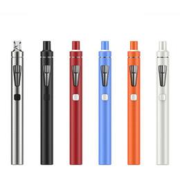Wholesale E Cigarette Joyetech - 100% Original Joyetech eGo AIO D16 kit 1500mAh Battery Capacity 2ml E-liquid Capacity Electronic Cigarette Kits Free DHL