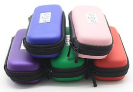 Wholesale Electronic Cigarette Battery Large - Ego Zipper Case for Electronic Cigarette Bag Large Middel Small Size with Ego Logo Ego Zipper Bag for ego battery in Stock