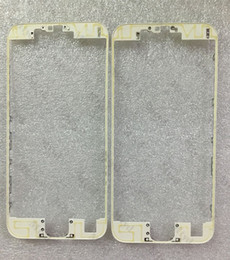 """Wholesale Iphone Mid Black - LCD Touch Screen Middle Mid Bezel Frame for Apple iPhone 6S 4.7"""" 6s Plus 5.5 inch Black White With Hot glue Stickers"""
