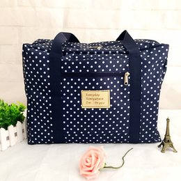 Wholesale Large Clear Handbags - Duffle Bag Women Travel Bag Stripe Printed Shoulder Bags Large Capacity Luggage Handbag to Travel Waterproof Weekend Bags Bolsos de Mujer