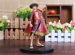 one piece figure dolls Promo Codes - One Piece Monkey D Luffy 15CM PVC Japanese Anime Action Figure Toys Grandline Lady 15th Anniversary Collection Model Doll Gift For Boys