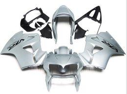 Wholesale Honda Fit Silver - 3 Free gifts New ABS Fairing Kits 100% Fit For HONDA VFR800RR 98 99 00 01 VFR800 VFR 800RR 1998 1999 2000 2001 Bodywork set silver gloss