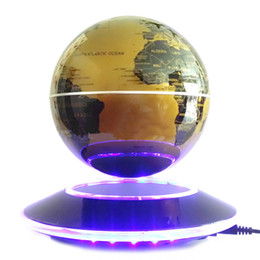 Wholesale Levitation Globe - Best high tech electronic produc 6 inch magnetic levitation globe for office home desktop decor gift for friend child teacher