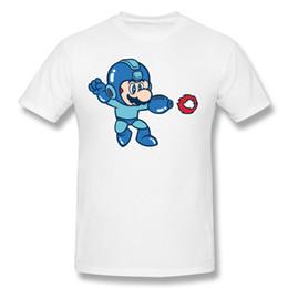 Canada Hommes élégants simples chemises d'été livraison gratuite manches courtes drôles t-shirts conception de col de coton super confortable pour le garçon Mega Mario supplier designing shirt stylish Offre