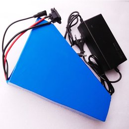 Wholesale Lithium Bike Battery Packs - Free customs duty New arriver triangle battery pack lithium battery 48v 20ah electric bike battery