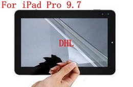 Wholesale Ipad Scratch Guard - DHL For iPad Pro 9.7 Tablet PC 3 Layers Clear LCD Screen Protection Protector Film Guard Anti Scratch Without Retail Package