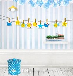 Синий WallpaperBalloon 5x7ft виниловые фоны компьютер печатных детские дети свадебные фотографии фоны от
