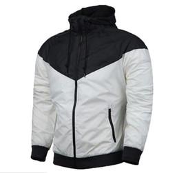 Wholesale Turtleneck Hoodies Men - NK New fashion 5 Style Men and Women Fall thin windrunner Pullover Hoodies light Windbreak Free shipping zipper hoodie