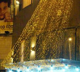 2019 luci mx 4.5 Mx 3M 300 LED ghirlanda luce di nozze di natale LED tenda di luce stringa fata lampada festa di compleanno decorazione ghirlanda AC110V-250V sconti luci mx