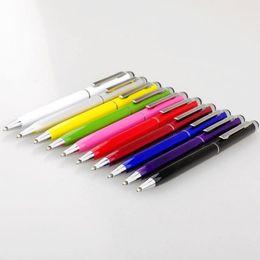 продать samsung galaxy s5 Скидка Высокое качество 2 в 1 стилус Touch Pen красочные Кристалл емкостный Touch Pen для ipad для iPhone для HTC для телефонов Samsung Бесплатная доставка