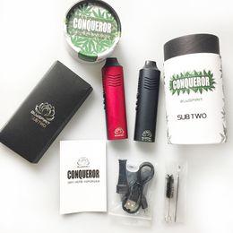 Deutschland Conqueror Dry Herb Vaporizer Starter Kit für 2200mAh Batteriekapazität mit OLED Screen Elite für rauchende Dhl-freie Versorgung