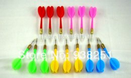 Wholesale Wholesale Steel Tip Darts - 15 pcs of Steel Tip Darts Needle Tip Dart in 5 Colors Brand New and Free shipping