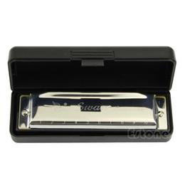 1pc Silver Swan Harmonica 10 Agujeros Clave de C para Blues Rock Jazz Folk Harmonicas Nuevo desde fabricantes
