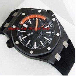 Wholesale Watch Diver Men - Luxury Watches Offshore DIVER 15707CE.OO.A002CA.01 B&P Automatic Mens Watch Men Watches Men's Watch Top Quality
