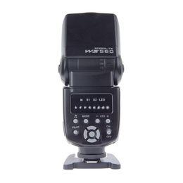 Wholesale Pentax Camera Flash - Freeshipping Universal Camera LED Flashes Speedlite Speedlight for Nikon Canon Olympus Pentax D3100 D5100 1D 5DII 5DIII 50D