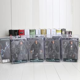 """Wholesale Neca Endoskeleton - Retail 7""""18cm 4style NECA The Terminator 2 Action Figure T-800 ENDOSKELETON PVC Figure Toy Boxed"""