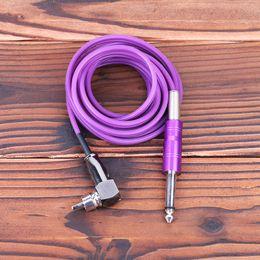Wholesale Silica Gel Rca Clip Cord - Tattoo 4 Colors RCA Silica Gel Clip cords For Power Supply Machine Guns 1.8 m TPS5120 Wholesale