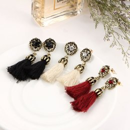Wholesale New Style For Sale - New vintage tassel Dangle earrings for women hot sale fashion national style dangling earrings jewelry accessories