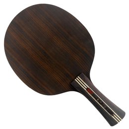 Wholesale Table Transformer - Wholesale-KTL Ebony 7 Black Coffee Transformer Shakehand Table Tennis Blade