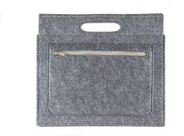 Wholesale Document Handbag - Handbag A4 document briefcase drop shipping can customize adding logo
