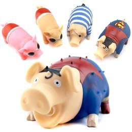Wholesale Screams Pigs - stress reliever screams toys pig kneading music vent toys terrifying screams spoof toys