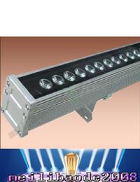 Barra lineal online-Envío gratis LED 18 w multicolores Lavadora lavado de pared Luz AC110V etapa Linear bar lámpara al aire libre LLFA