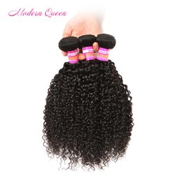 Wholesale Malaysian Afro Curl - Malaysian Afro kinky Culrly human hair extension 3pcs Malaysian Curly Hair Weave Bundles Soft Cheap 7A Mink malaysian hair weave kinky curl