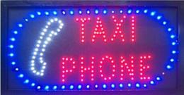 benutzerdefinierte buchstaben zeichen Rabatt 2016 heißer verkauf 10X19 zoll indoor Ultra Bright laufendes Taxi Telefon führte offenes zeichen großhandel