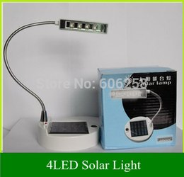 Wholesale Solar Indoor Reading Lights - Wholesale-Led Solar Table Lamp   PC USB Charger LED Portable Lamp   Solar Bulbs Light   Solar Indoor Reading lighting 1PCS