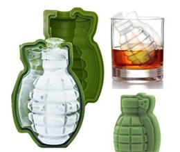 Wholesale Unique Cakes - New silicone unique Shape Ice Cream Maker Army Green Ice Mold Creative Cake Mold Baking Mold IA740