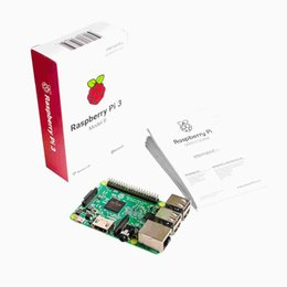 Wholesale Raspberry Pi Model - 2016 Original Raspberry Pi 3 Model B 1GB RAM Quad Core 1.2GHz 64bit CPU WiFi & Bluetooth