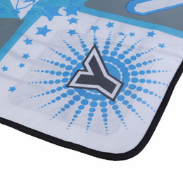 Wholesale Dancing Pad Tv - Newest Anti Slip Dance Revolution Pad Mat Dancing Step for Nintendo for WII for PC TV Hottest Party Game Accessories