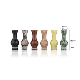 Wholesale Dct Pieces - Cheapest Jade Ming Vase 510 Mouth Pieces vase drip tips For CE4 CE5 DCT Vivi Nova EVOD EE2 E Cigarettes