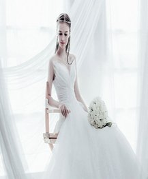 Wholesale Online Vintage Wedding Dresses - 2016 Wedding Dresses Online Cheap Bridal Wear Best Lace Wedding Gowns Abiti da Sposa New Arrival