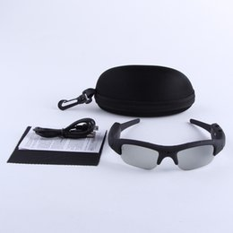 Wholesale Dv Dvr Spy Sun Glasses - Mini DV DVR Sunglasses Camera Video Recorder Spy Sun Glasses Camera Eyewear Camcorder with Retail Box